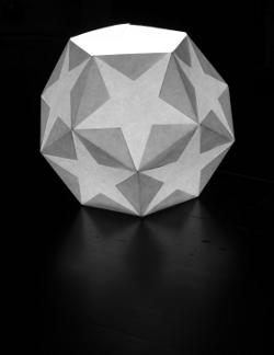 pentagon-dodecahedron lantern